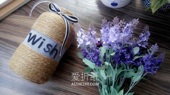 怎么将钙片瓶子废物利用做花瓶的方法- www.aizhezhi.com