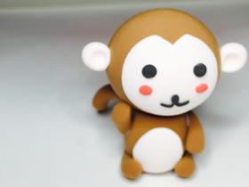 怎么用粘土做卡通小猴子的方法步骤