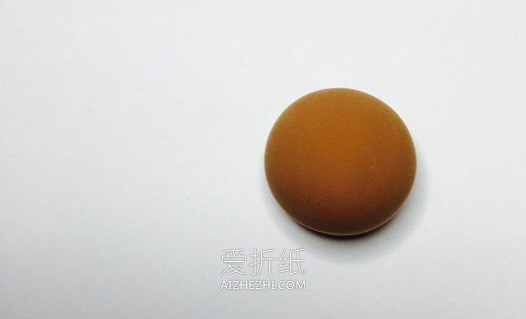 怎么用粘土做卡通小猴子的方法步骤- www.aizhezhi.com