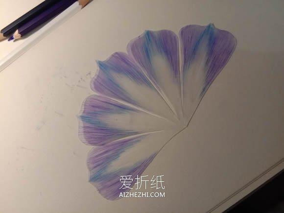 怎么用热缩片做牵牛花的详细图解教程- www.aizhezhi.com