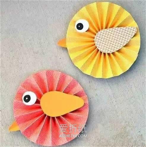 怎么用卡纸做小动物的方法简单又可爱- www.aizhezhi.com