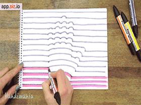 怎么画立体手的方法图解教程