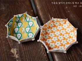 怎么用不织布做果盘的方法教程