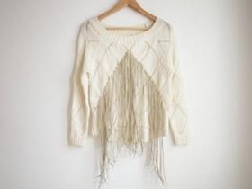 怎么用皮绳改造旧毛衣的方法图解