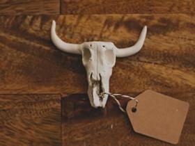 怎么用软陶做山羊头骨小饰品的方法