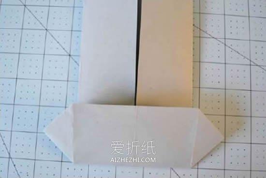 怎么折纸小衣服的折法过程图解- www.aizhezhi.com