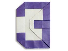 怎么折纸数字3和6的方法图解教程