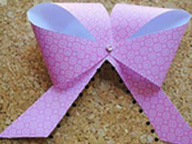 怎么做纸蝴蝶结简单又漂亮的方法