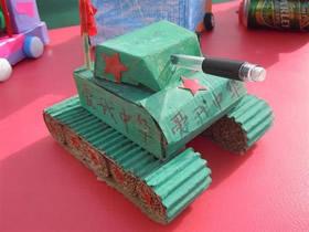 怎么用日常废弃物做儿童手工作品的方法