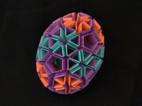 怎么折纸Snapology蛋的折法步骤图解过程