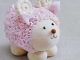 怎么用超轻粘土做可爱小绵羊的方法教程
