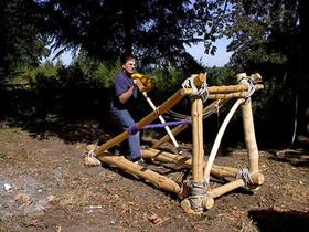 怎么用木板做大的投石机的方法教程