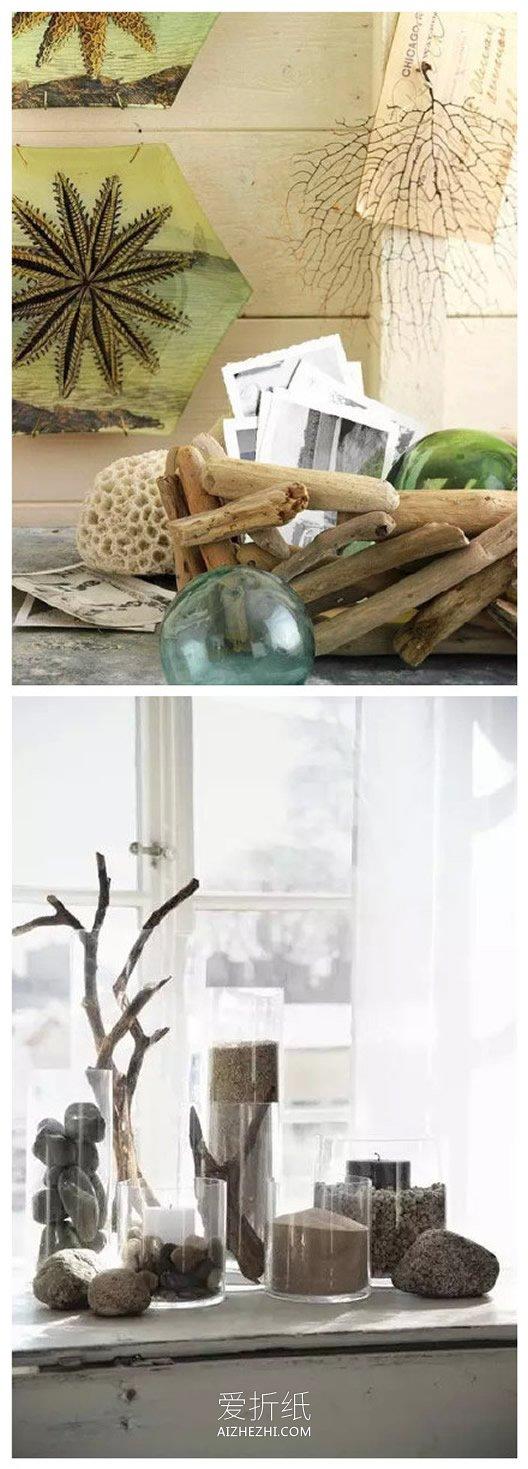 怎么用废木头做家居用品和装饰品的方法创意- www.aizhezhi.com