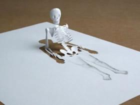 怎么用A4纸做立体纸雕艺术品的创意图片