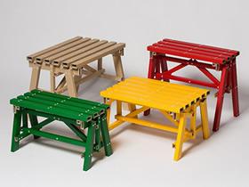 怎么用硬纸板做桌凳的作品图片