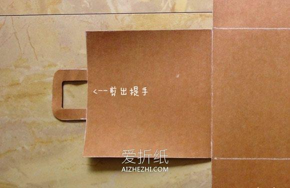 怎么用水洗牛皮纸做杂物篮的方法图解- www.aizhezhi.com