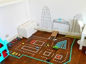 怎么用胶带让孩子玩游戏的方法图解