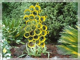 怎么用PVC管做庭院装饰的方法图解