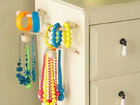 怎么创意收纳项链手链等首饰的方法图解