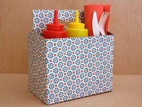 怎么用废纸盒做收纳盒的方法图解