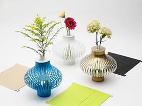怎么用卡纸做漂亮花瓶套的方法图解