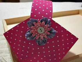 怎么用卡纸做小篮子的方法图解