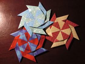 怎么折纸旋转飞镖的折法图解教程