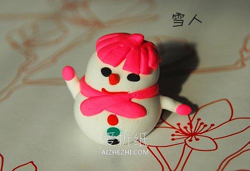 怎么用粘土做简单又可爱的手工作品图片- www.aizhezhi.com