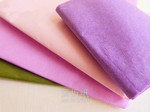 怎么用彩纸做母亲节花束贺卡的方法图解- www.aizhezhi.com