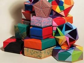 怎么折纸基本方形纸盒的折法图解