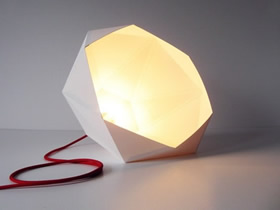 怎么用卡纸做几何灯罩的方法图解