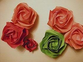 怎么折纸新川崎玫瑰的折法图解