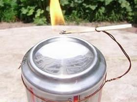 怎么用易拉罐做凹面镜的方法图解
