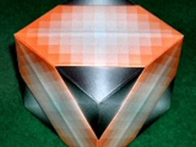 怎么简单折纸立方体的折法图解