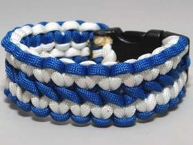 怎么用六股绳编织宽版手链的编法图解
