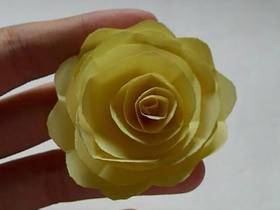 怎么用彩纸做牡丹花的方法图解