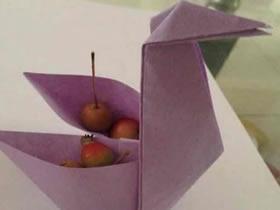怎么折纸纸鹤收纳盒的方法图解