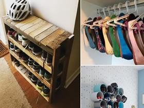 怎么废物利用做鞋架的方法图解