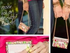 怎么用饼干盒做手提包的方法图解