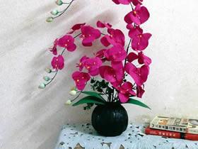 怎么用不要纸盒做瓜形花瓶的方法图解
