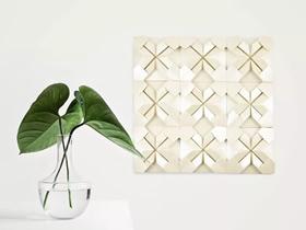 怎么用折纸做时尚墙画的方法图解
