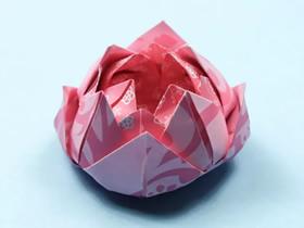 怎么简单折纸莲花的折法图解