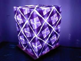 怎么折纸灯的折法详细步骤图解
