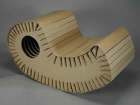 怎么用硬纸板做摇摇椅的方法图解