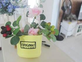 怎么用洗洁精瓶子做花盆的方法图解