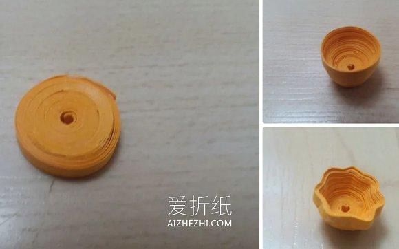 怎么用衍纸做水仙花的方法图解- www.aizhezhi.com