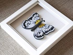怎么用衍纸做蝴蝶装饰品的方法图解