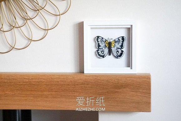 怎么用衍纸做蝴蝶装饰品的方法图解- www.aizhezhi.com
