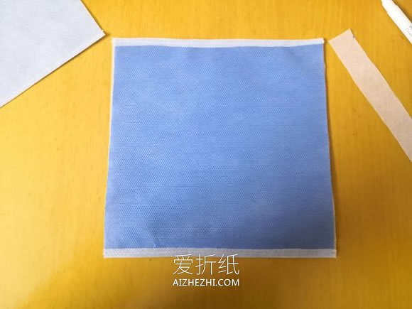 怎么自制两层口罩的制作方法详细图解- www.aizhezhi.com