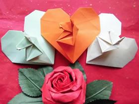 怎么折纸马上心想事成的折法图解